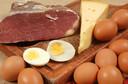 Qual a associação entre ingestão de proteínas vegetais e animais e mortalidade geral e por causas específicas?