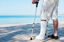 Uso de uma órtese removível se mostrou não inferior à imobilização gessada em adultos com fratura de tornozelo